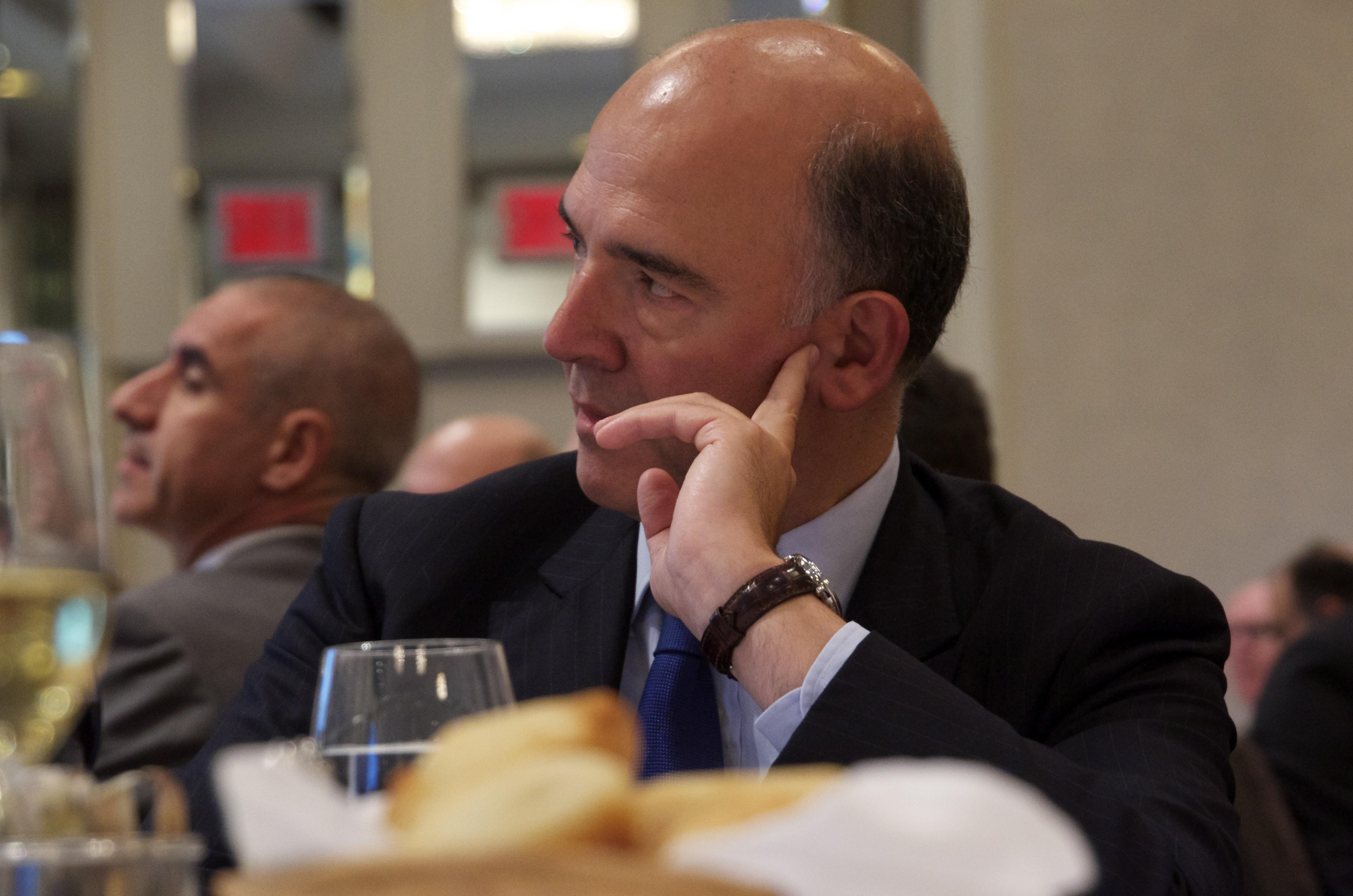 Pierre Moscovici à Montréal