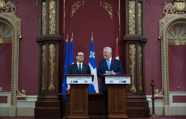 France-Québec : 14 accords de coopération signés