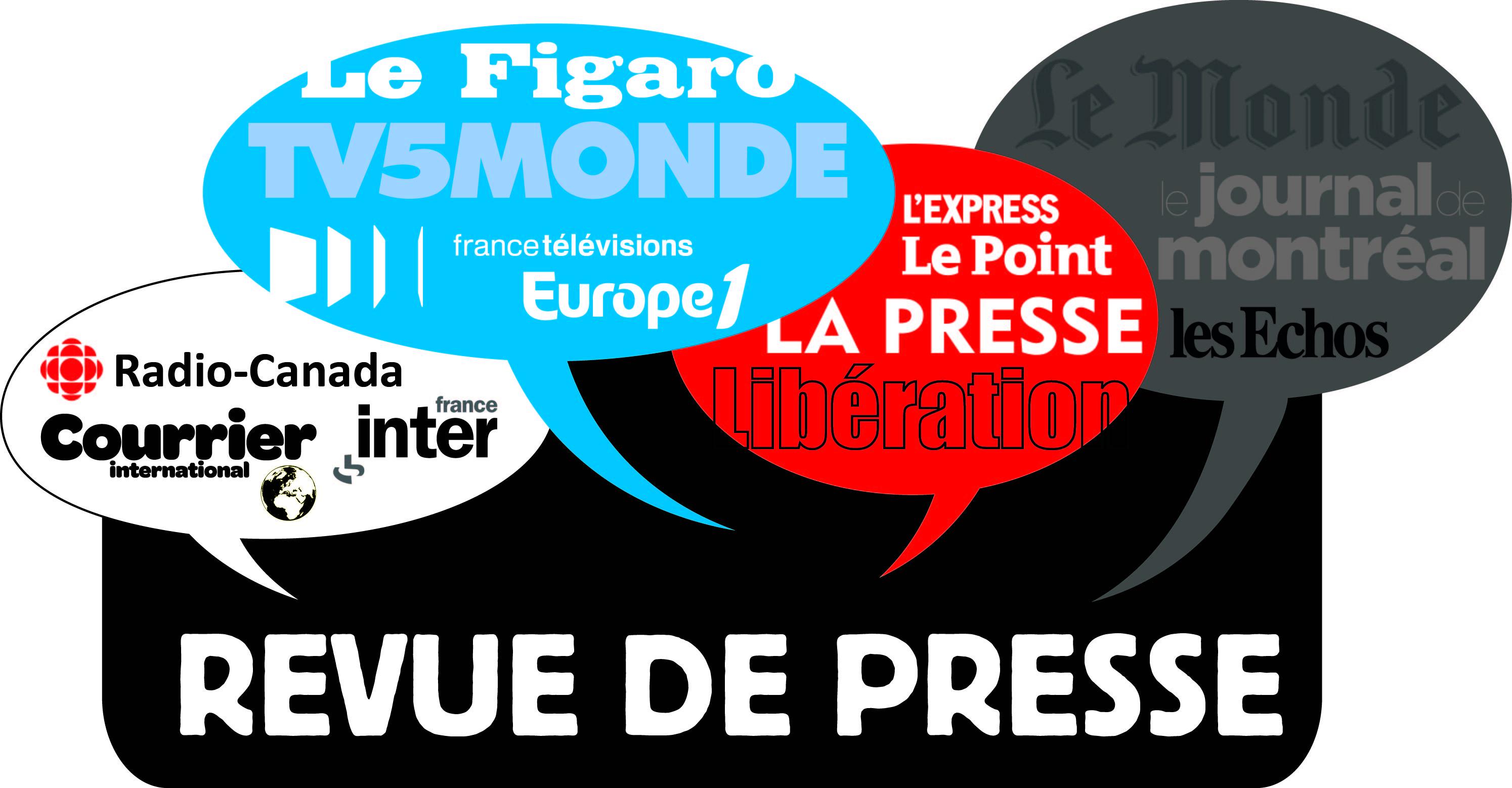 La revue de presse française de Maryne