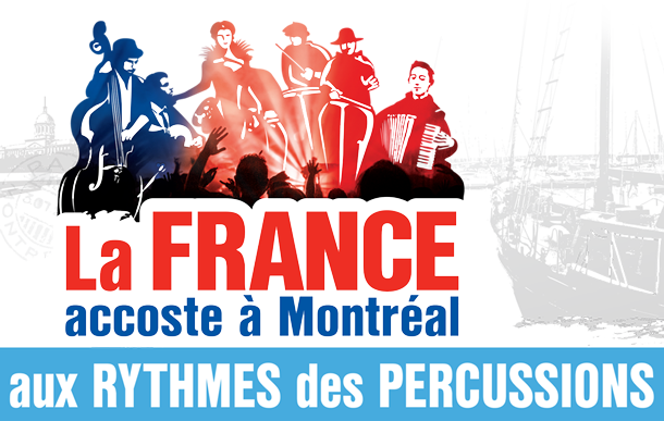 Festival international de percussions de Montréal aux rythmes de la France