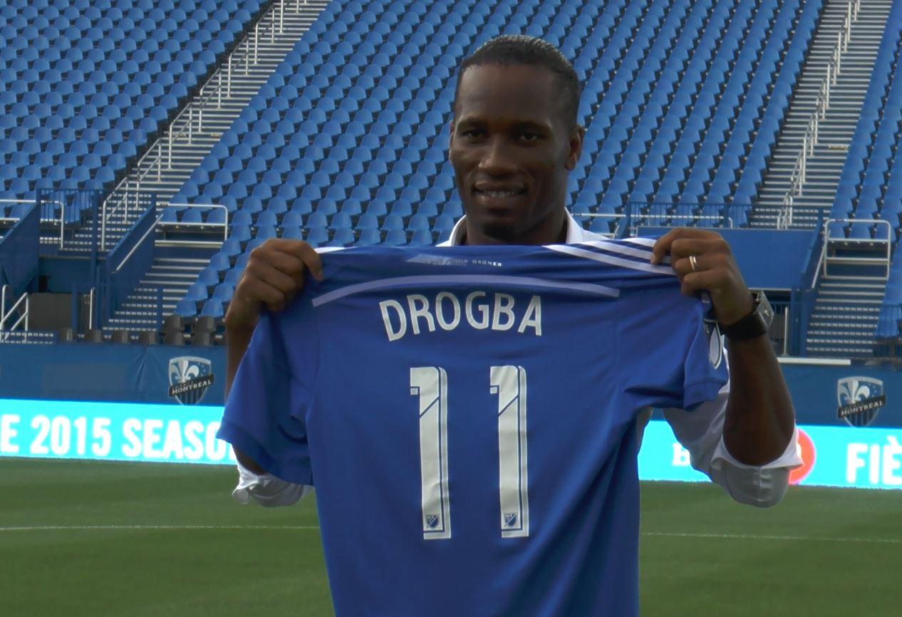Didier Drogba à Montréal : « Moi, je veux gagner des trophées »