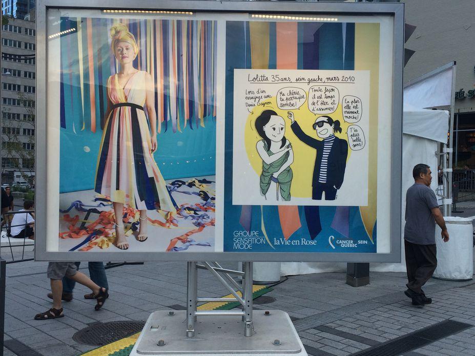 Le cancer du sein s'expose au festival Mode et Design de Montréal
