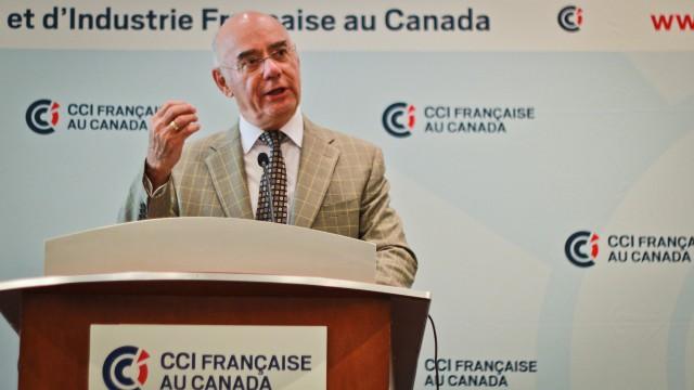 Jacques daoust devant la ccifc le commerce avec l for Chambre de commerce francaise au canada