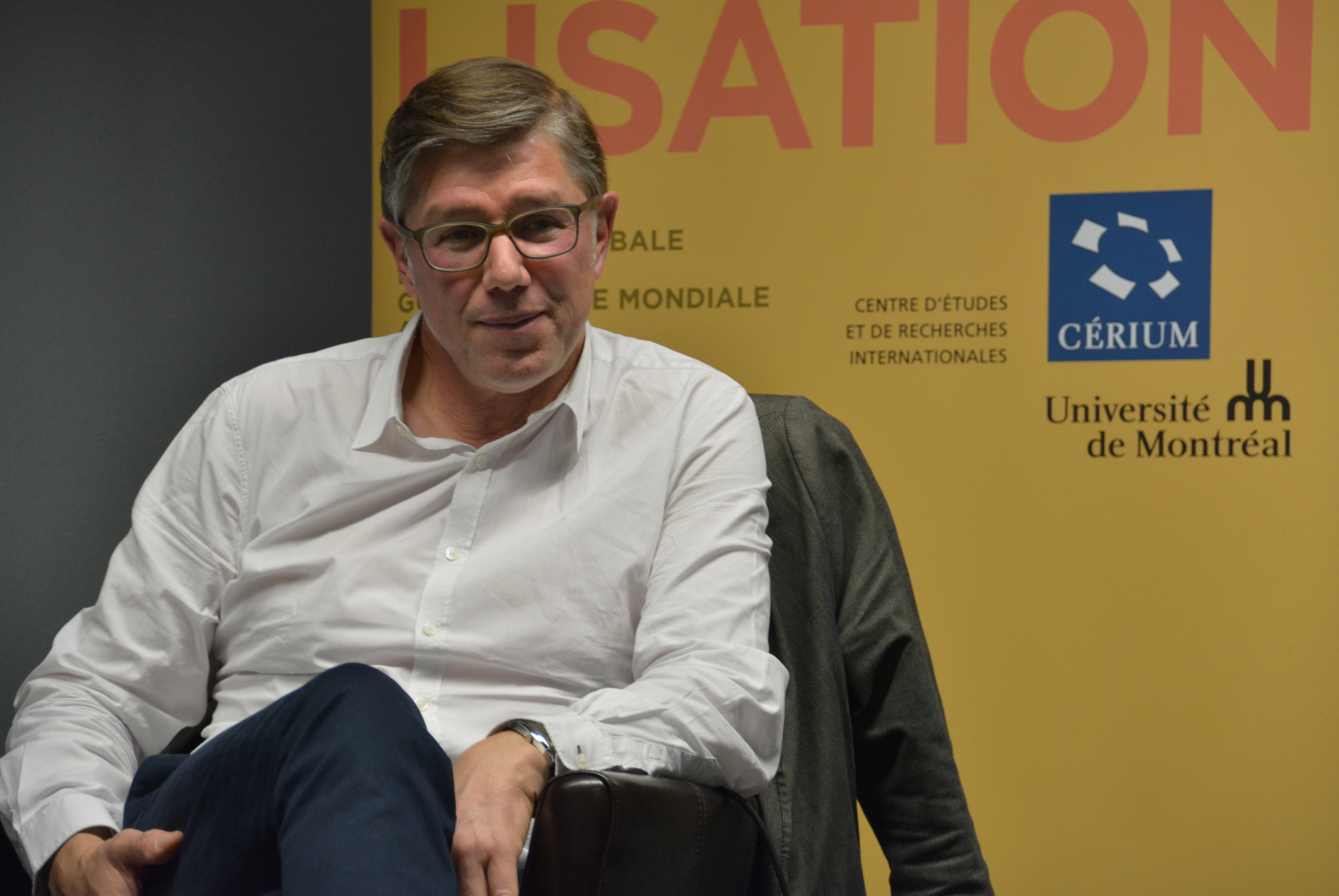 Jean Quatremer à l'Université de Montréal : L'absolue nécessité de l'Europe