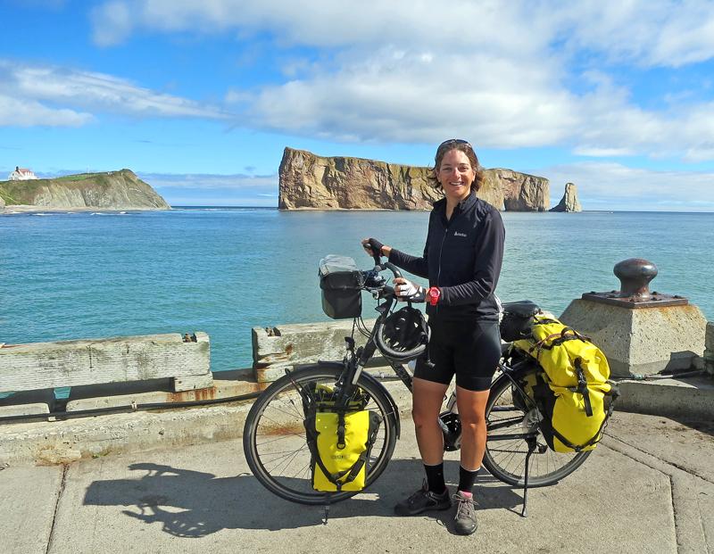 Canada à vélo : le voyage d'une française qui a pédalé d'un océan à l'autre