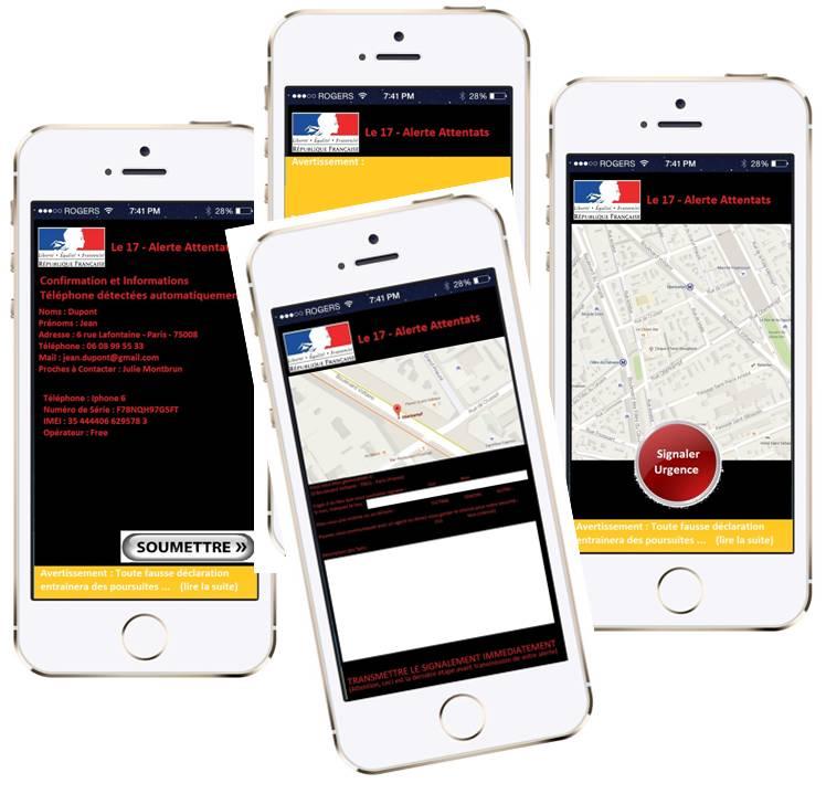 Un Français de Montréal invente une application mobile pour signaler un attentat