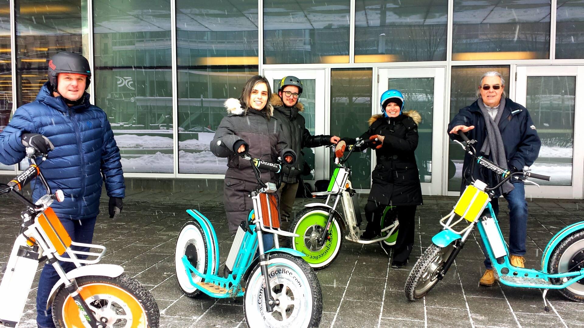 Ça roule pour GEEBEE, le scooter électrique franco-québécois!