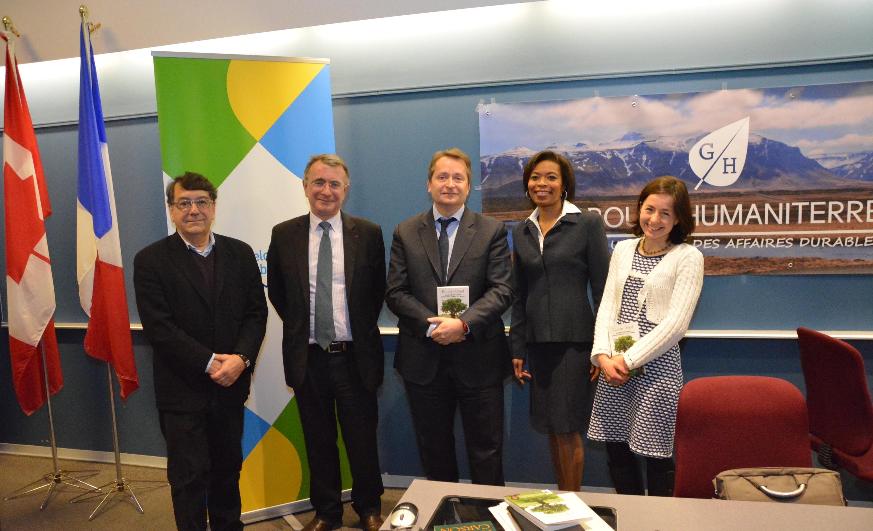 L'après COP 21 expliqué à HEC Montréal par l'ambassadeur Nicolas Chapuis