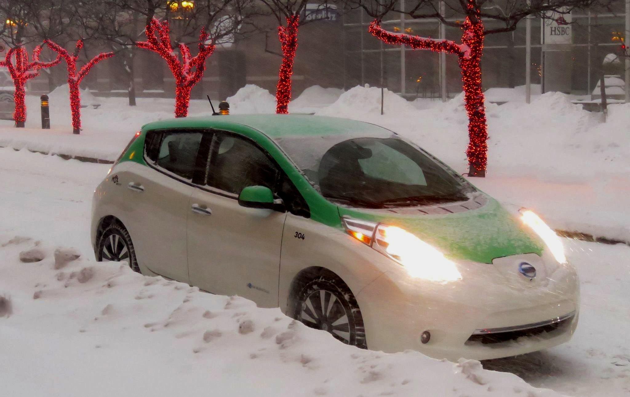 Téo électrise l'industrie des taxis de Montréal