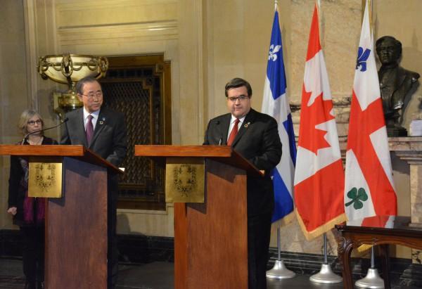 Ban Ki-Moon à Montréal : la France s'inspire du modèle montréalais de prévention de la radicalisation