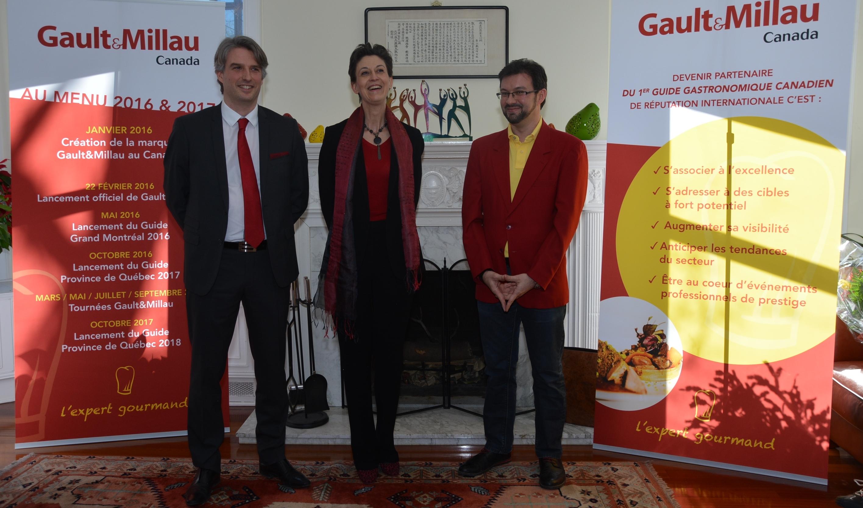 Gault&Millau se met à table au Québec