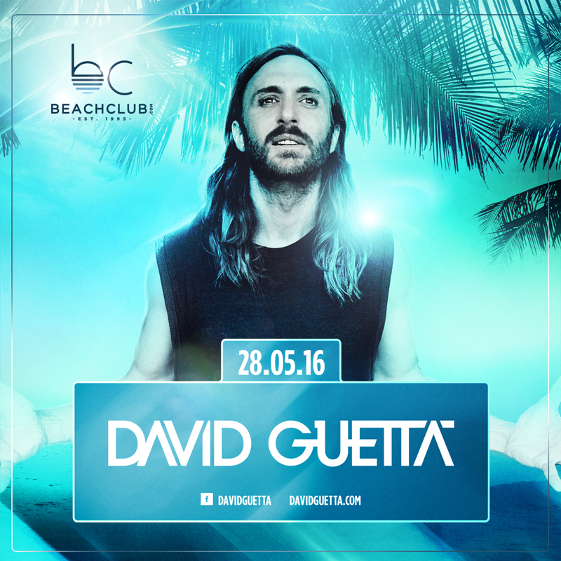 David Guetta lance la saison du Beach Club