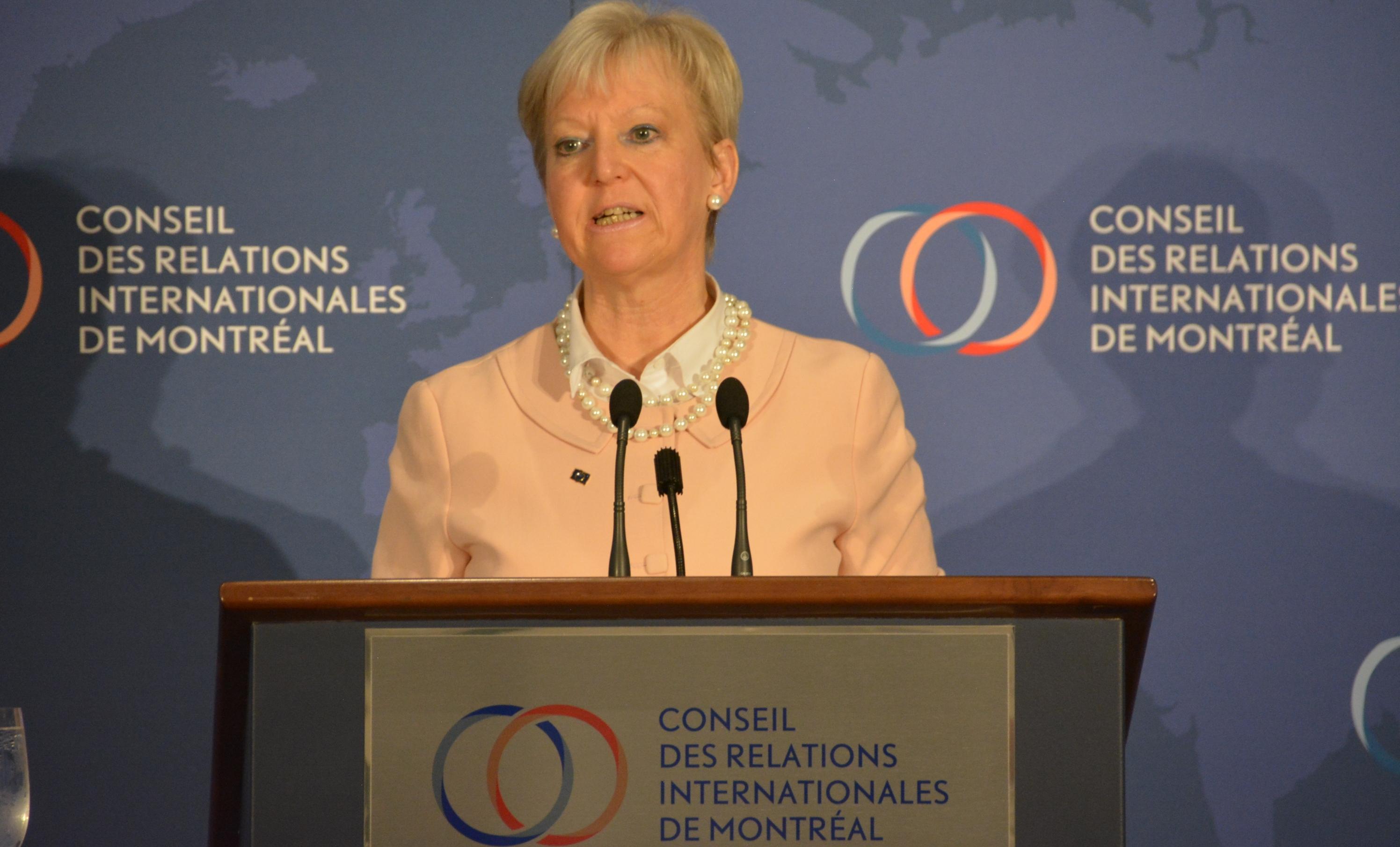 Marie-Anne Coninsx : L'AECG est un modèle pour les échanges commerciaux