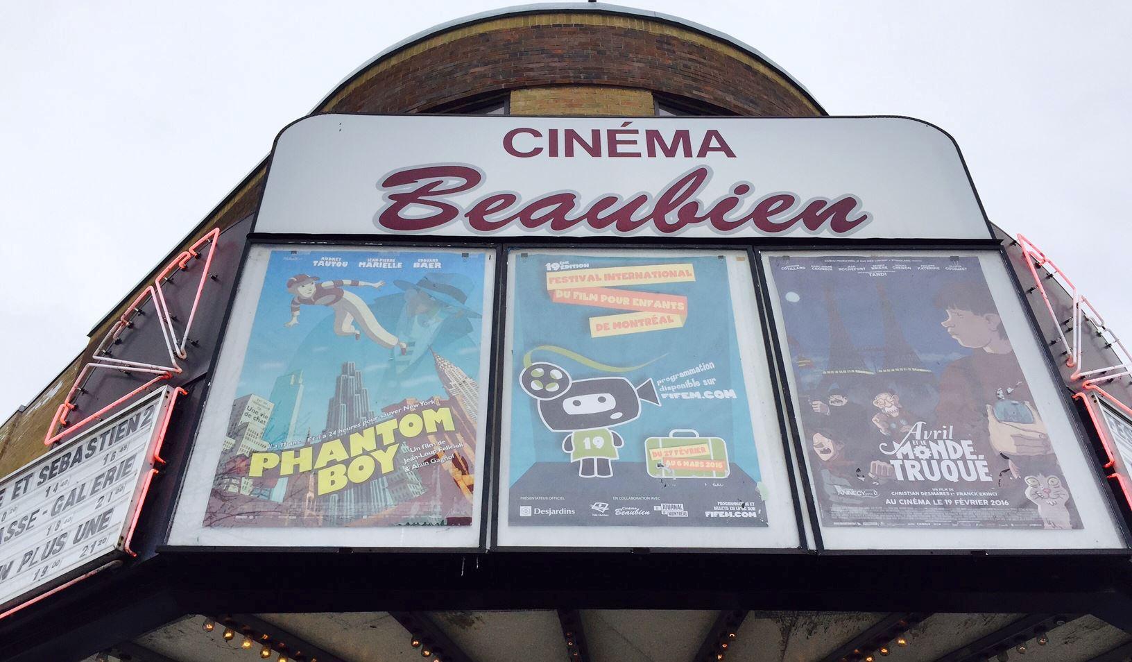 Plein la vue pour petits et grands au cinéma Beaubien