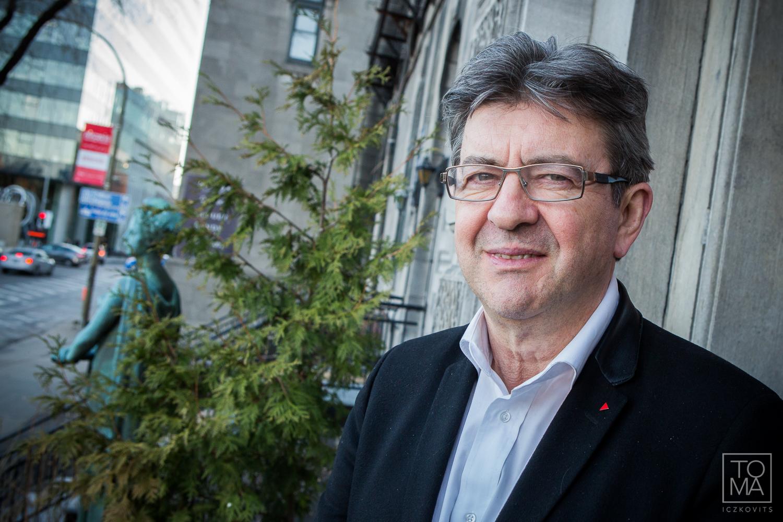 """Jean-Luc Mélenchon à Montréal : """"J'ai la nostalgie de la diversité du monde"""""""
