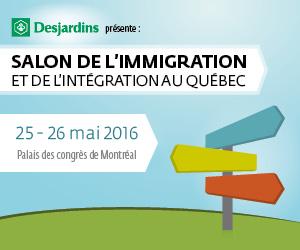 5e Salon de l'immigration du Québec à Montréal