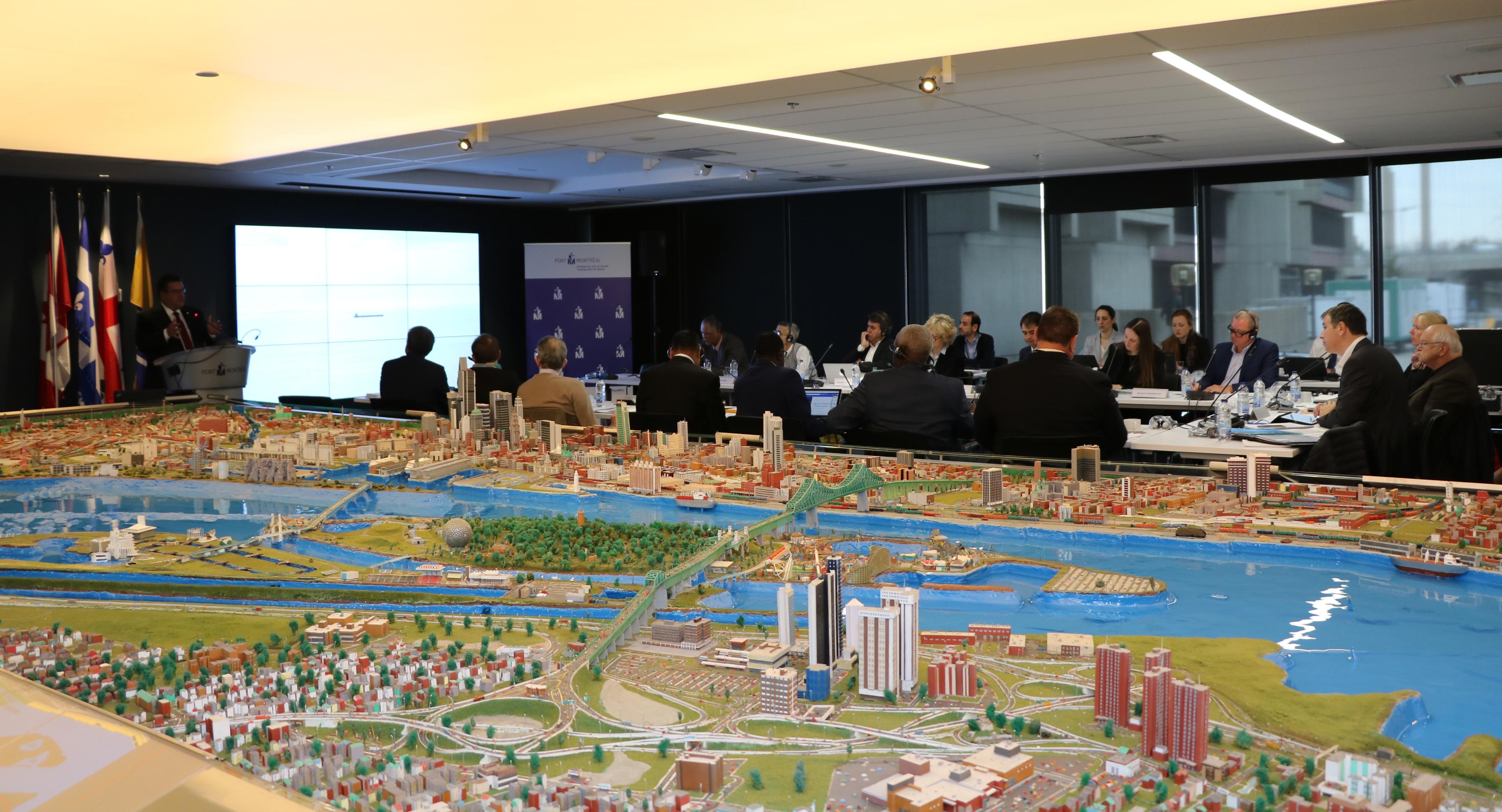 L'IAGF jette l'ancre à Montréal pour étudier l'avenir des grands fleuves