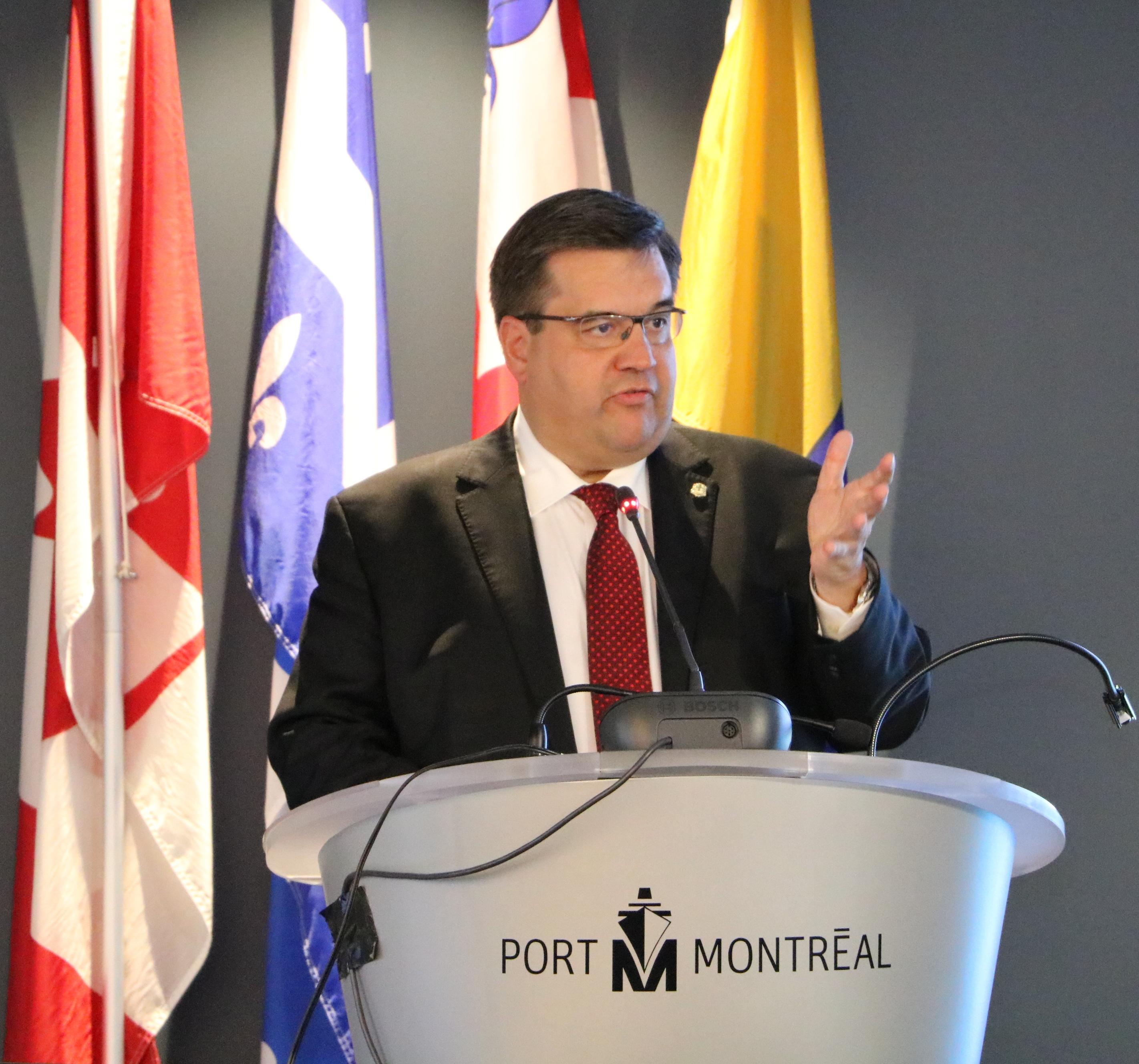 Denis Coderre, maire de Montréal - Crédit : Nathalie Simon-Clerc