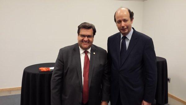 Retour en terre québécoise pour Louis Giscard d'Estaing