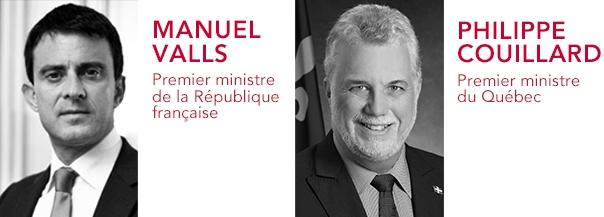 Manuel Valls et Philippe Couillard clôtureront la 22e Conférence de Montréal