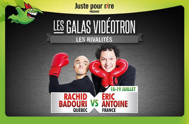 Match Québec-France au festival Juste pour Rire