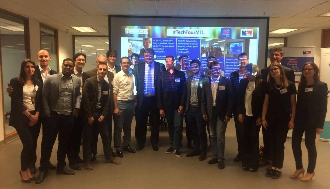 Montréal accueille les dix start-up françaises du French Tech Tour Canada