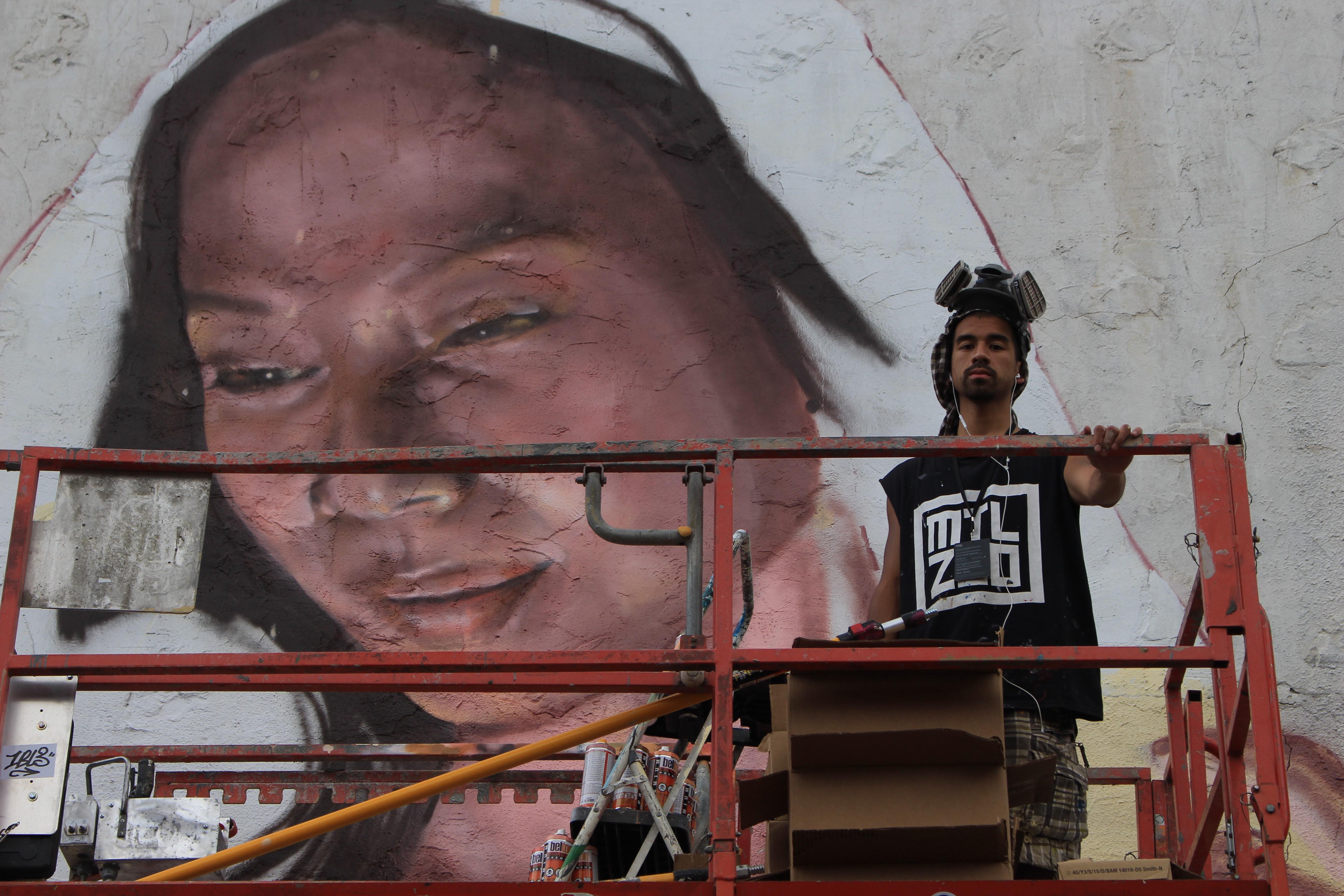 Festival MURAL : FONKi, le graffeur qui revisite l'art cambodgien