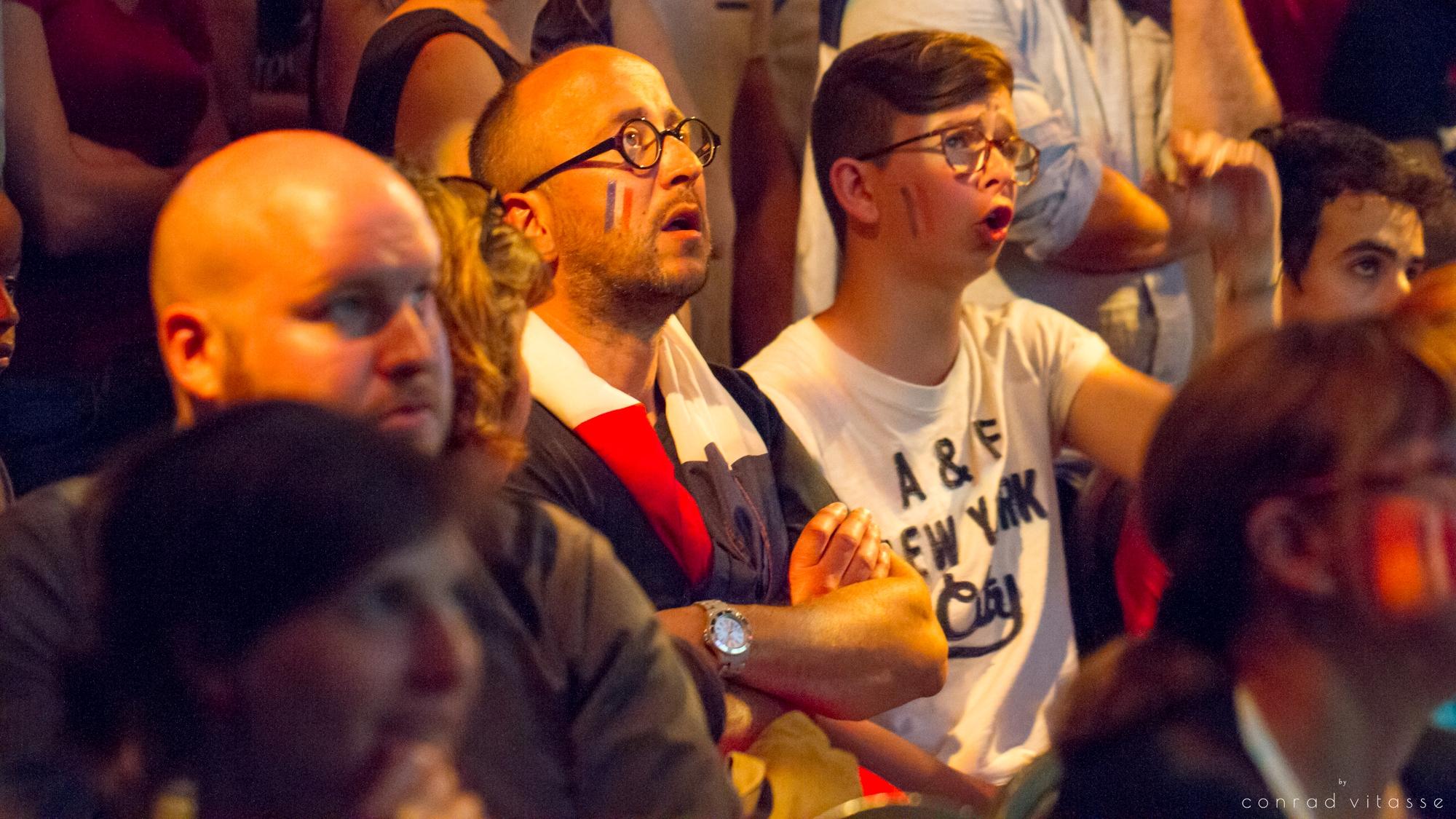 Finale de l'Euro : L'énorme déception des supporters français de Montréal