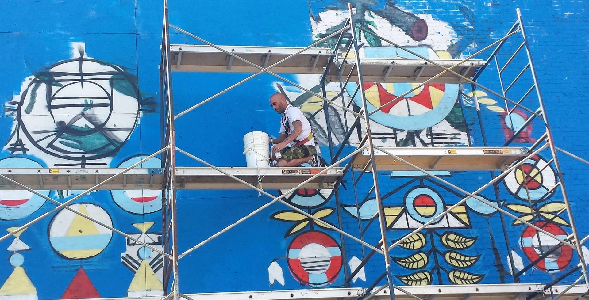 Festival Mural : les capteurs de rêve de GREMS