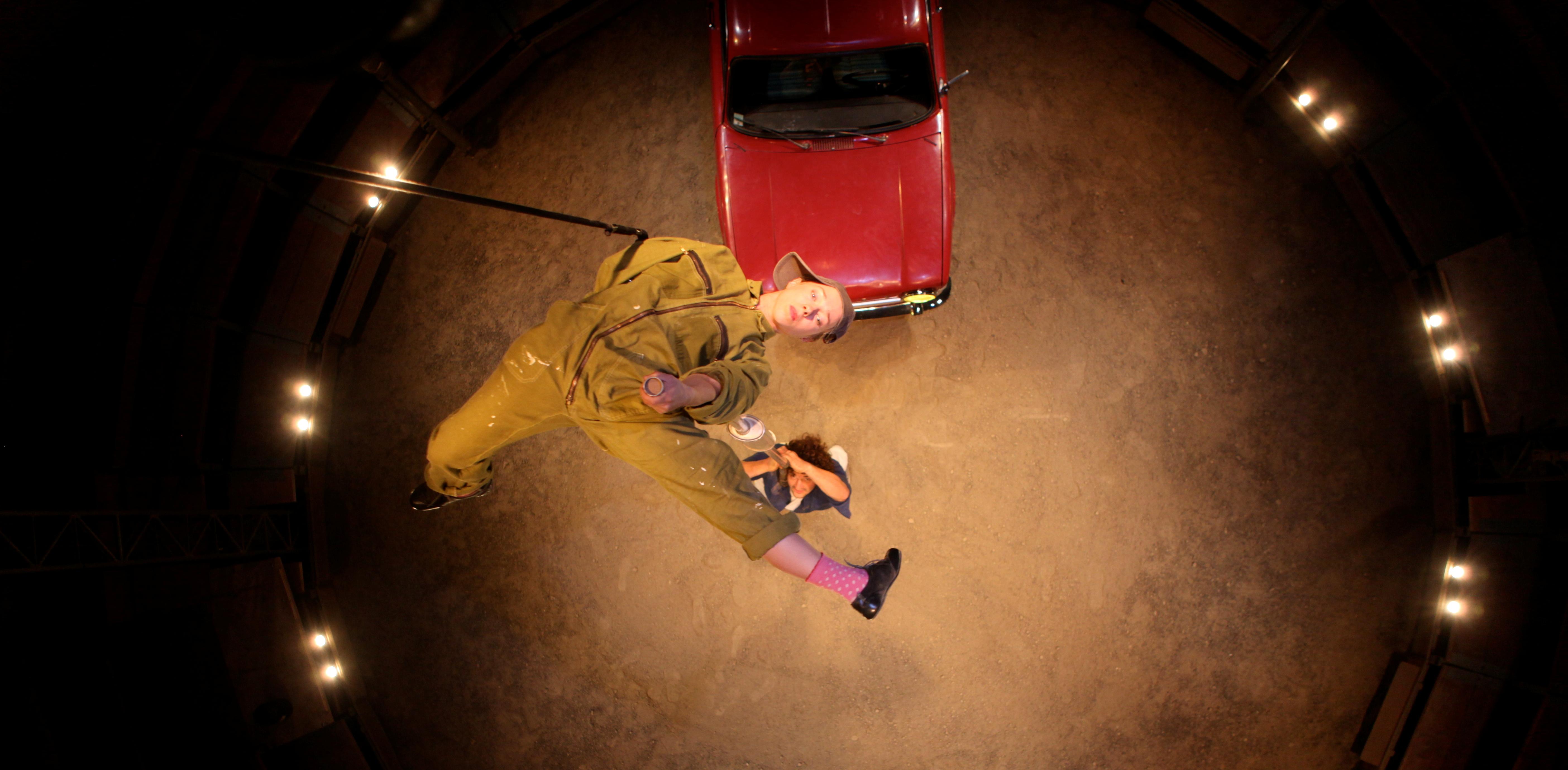 Une Simca 1000, complice artistique du Cirque Aïtal