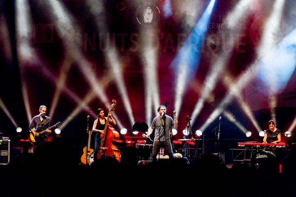 Concert des Ogres de Barback lors du festival Nuits d'Afrique de Montréal