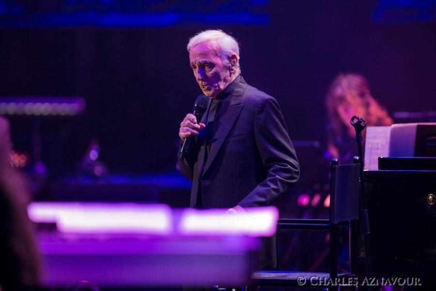 Charles Aznavour à Montréal cet automne