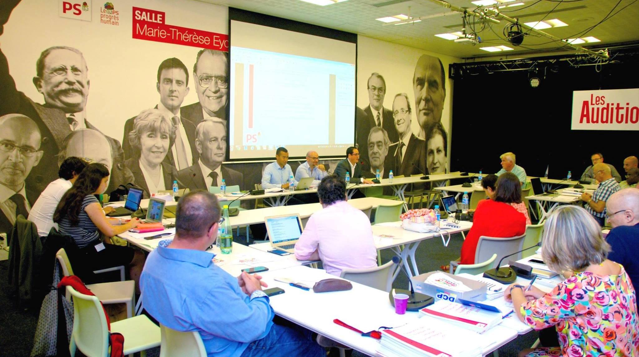 Convention fédérale de la FFE du parti socialiste