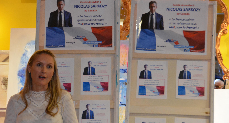 Primaire de la droite et du centre: Les partisans de Nicolas Sarkozy à Montréal se mobilisent
