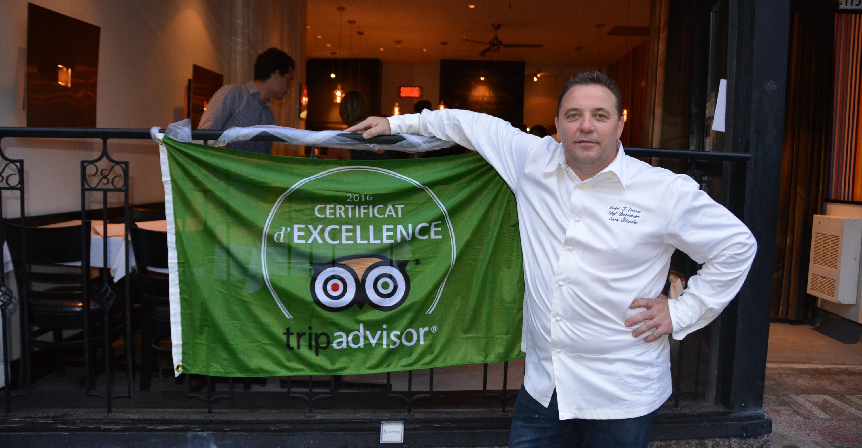 """10 ans de """"bistronomie"""" pour le restaurant Carte Blanche"""