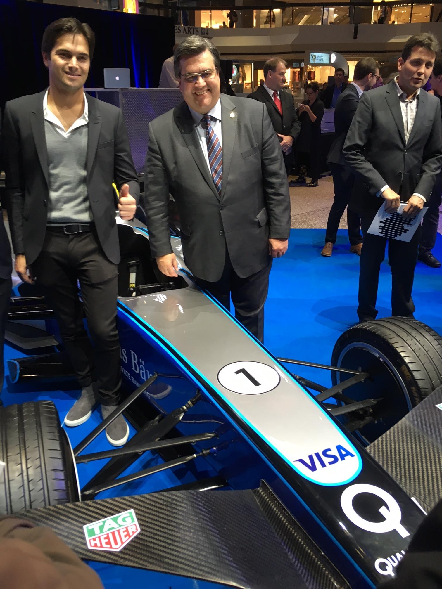 Denis Coderre lance la Formule E à Montréal