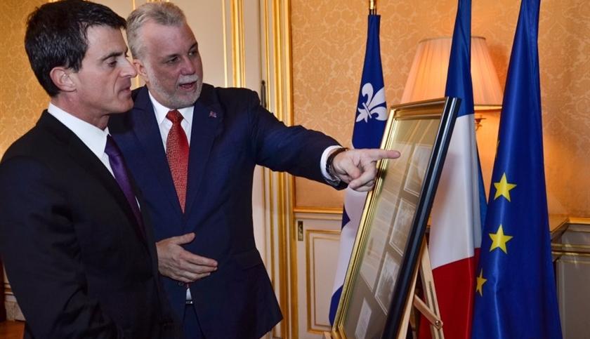Le Premier ministre Couillard en France en mars prochain