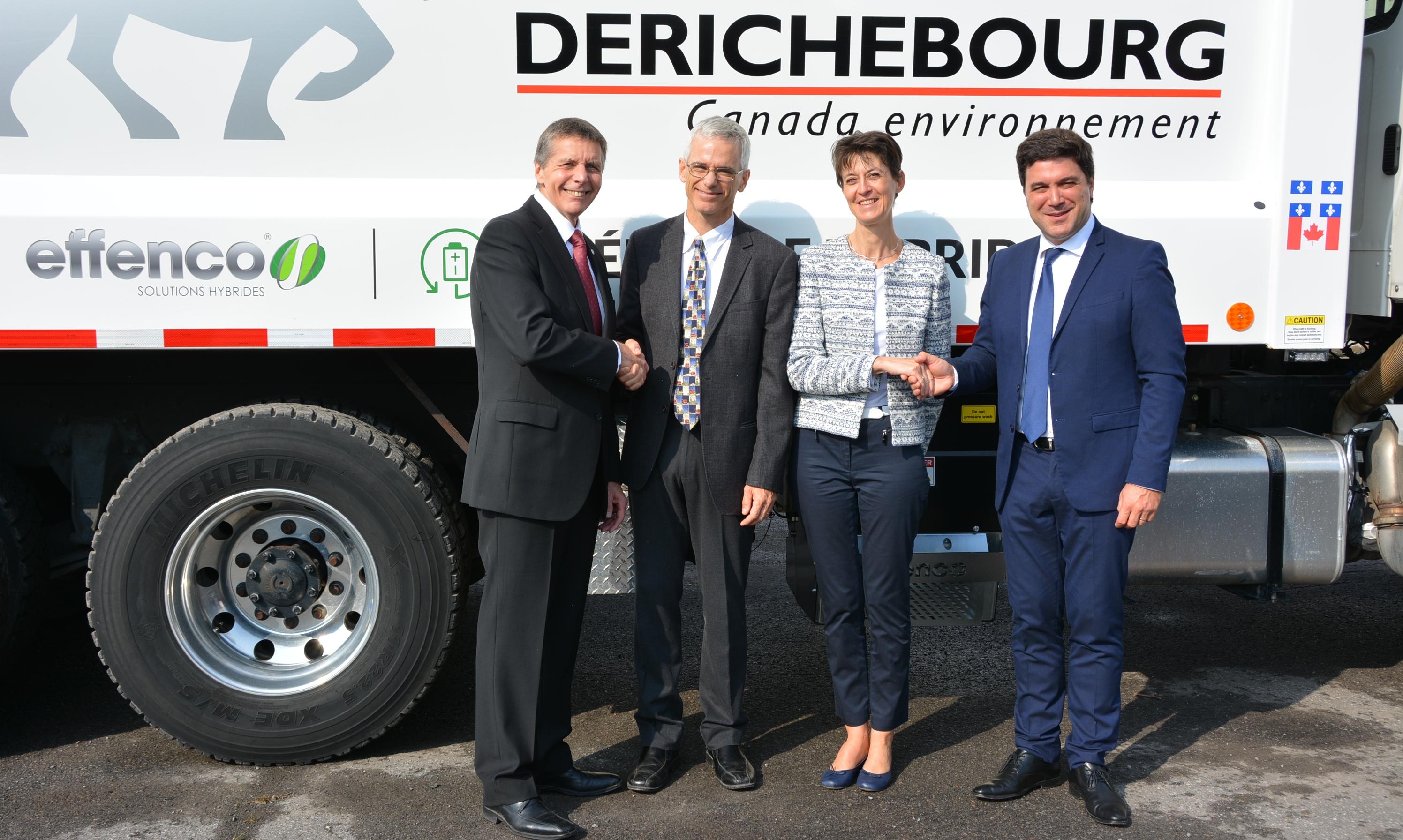 Derichebourg s'associe à Effenco pour innover dans la collecte des ordures à Montréal