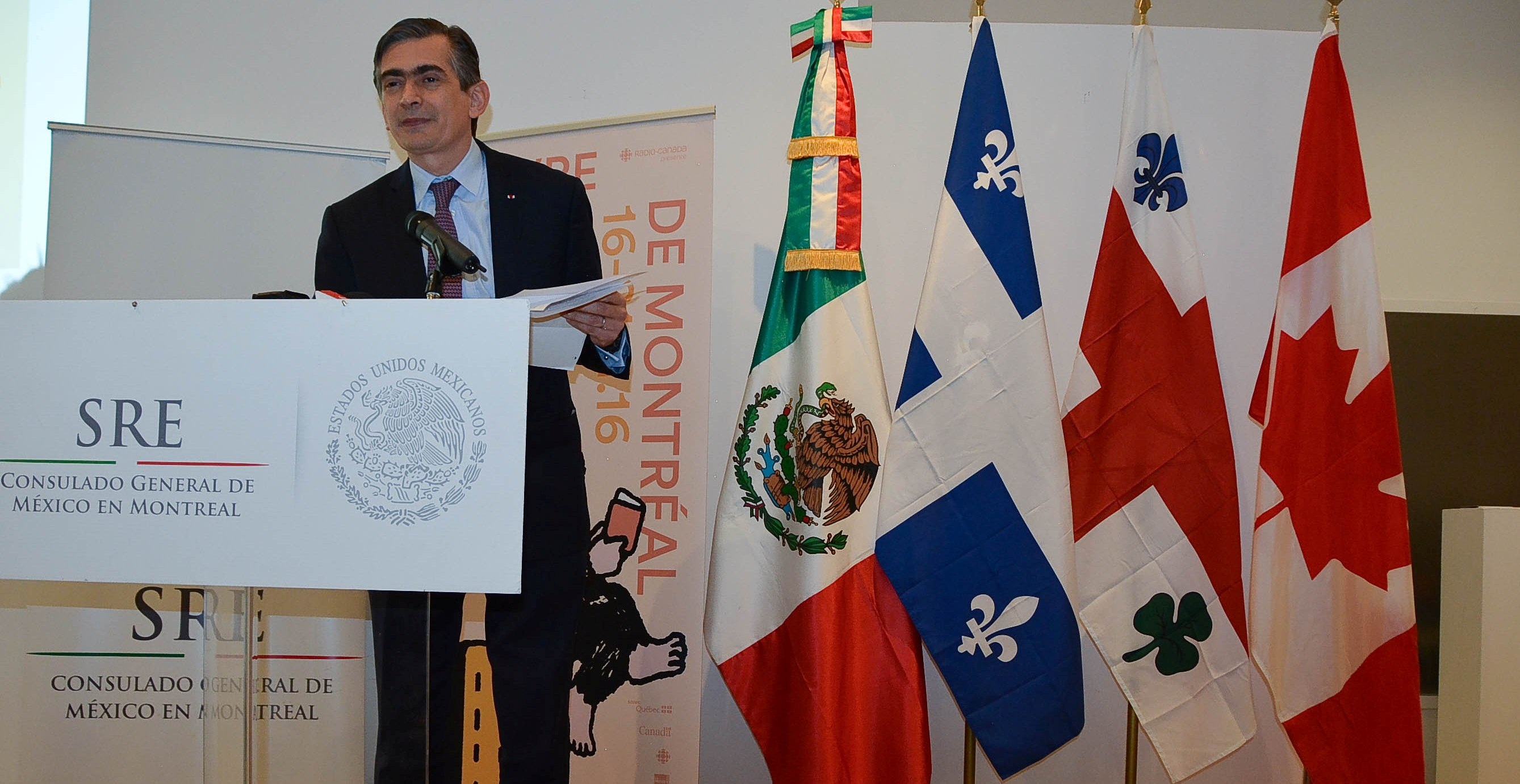 Le Mexique, l'acteur qui monte dans la francophonie d'Amérique