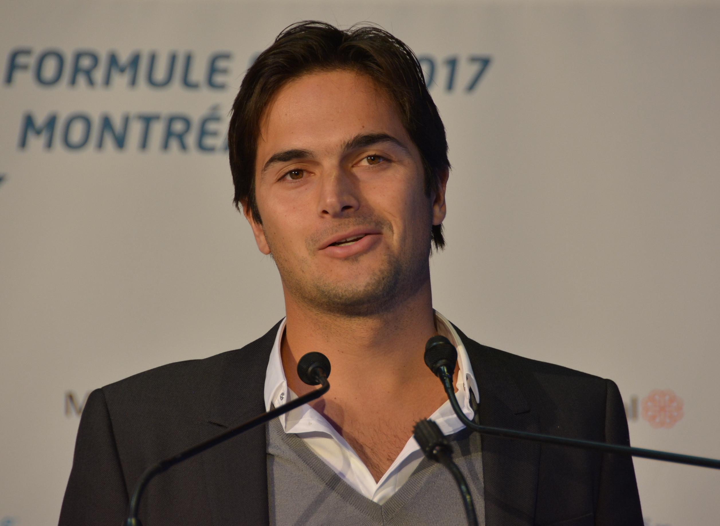 Nelson Piquet Jr, 1er champion de l'histoire de la Formule e, dont la père a gagné deux fois à Montréal en Formule 1