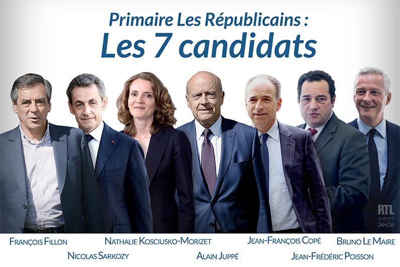 Le 1er débat de la primaire de la droite et du centre, en direct!