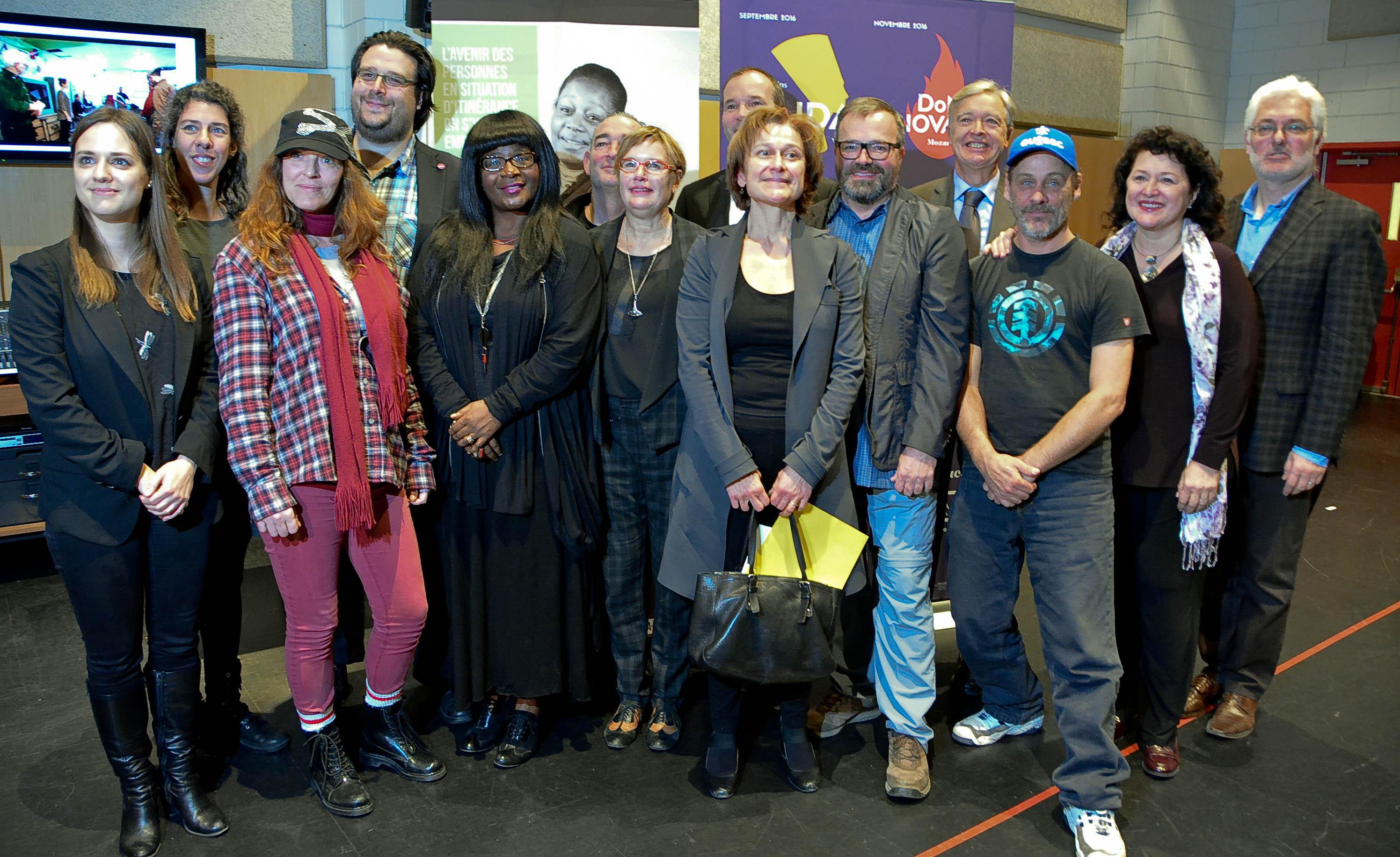 La réinsertion sociale par l'opéra de rue