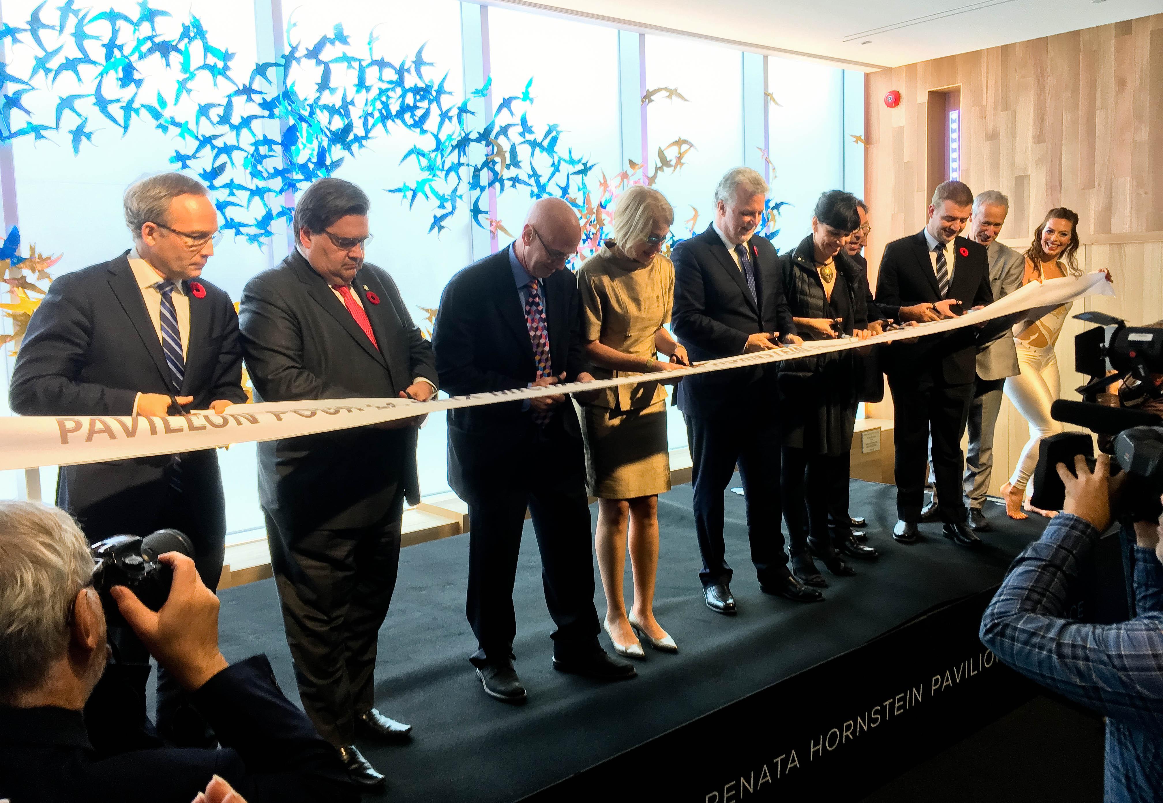 Le Pavillon pour la paix du MBAM ouvre ses portes aujourd'hui