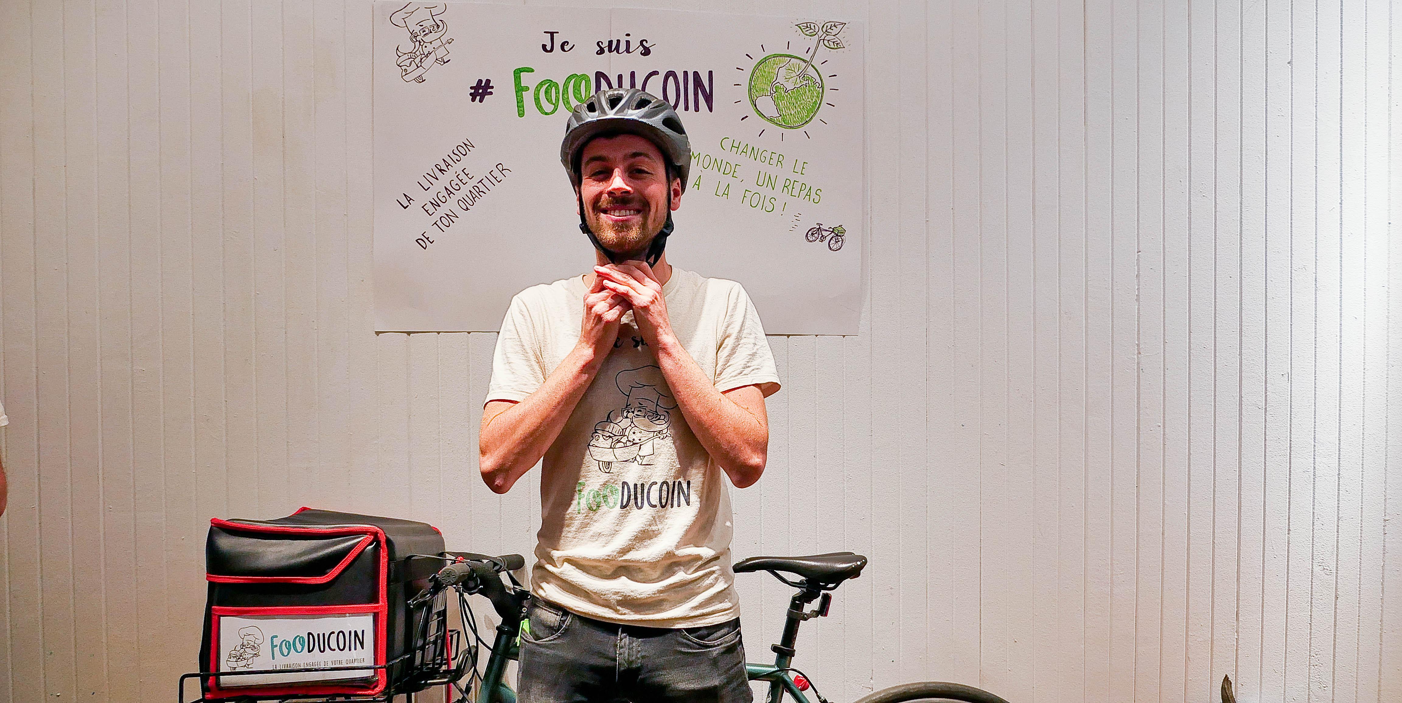 Fooducoin, un service de livraison de repas pour révolutionner l'économie du quartier