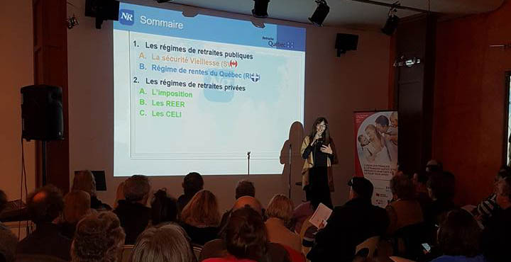 Conférence UFE-UF: Quelle retraite au Québec pour les expatriés français?