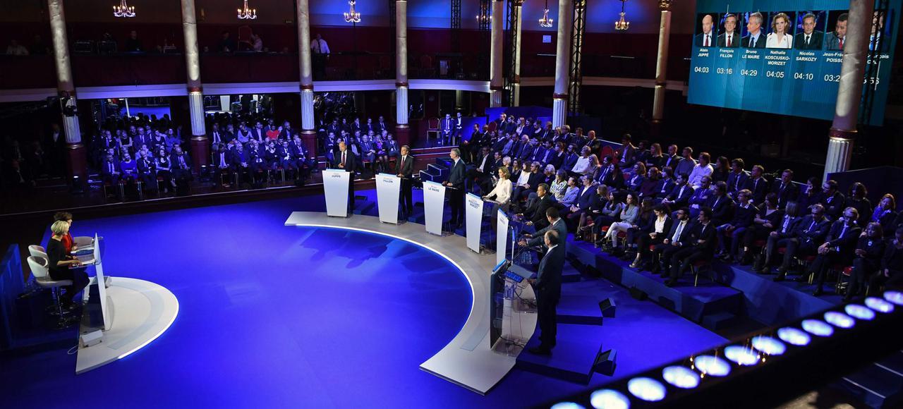 Le dernier débat de la droite et du centre, en direct ici à partir de 14h55!