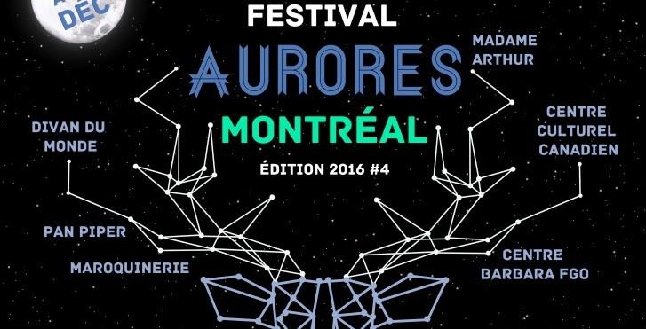 Le festival Aurores Montréal démarre à Paris aujourd'hui