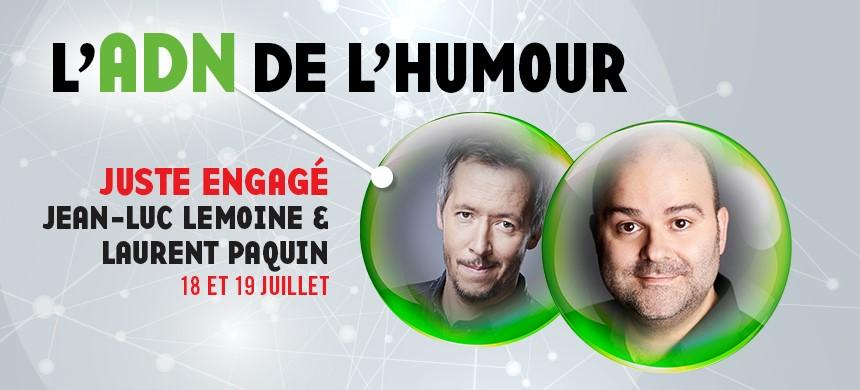 L'ADN de l'humour au 35e Festival Juste pour rire