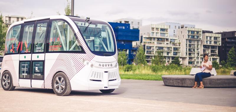 Keolis Canada et NAVYA s'allient afin d'implanter le transport public par navette électrique autonome au Québec