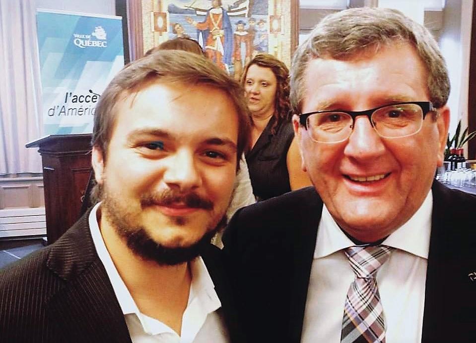 Éric Debroise avait invité Alexandre Bissonnette à ses réunions politiques